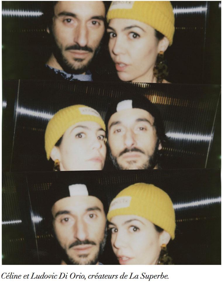 Céline et Ludovic Di Orio créateurs de La Superbe