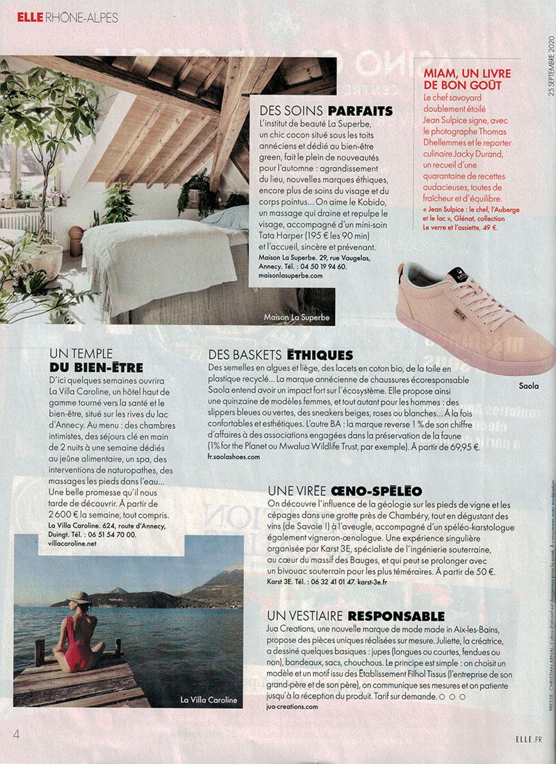 Elle Magazine / La Superbe Annecy