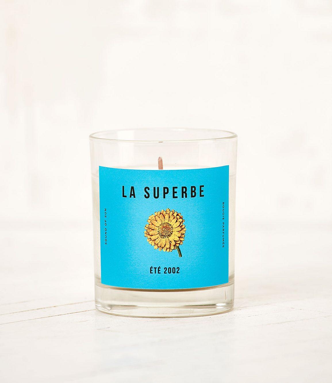 Bougie parfumée La Superbe Eté 2002